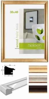 Holz-Bilderrahmen Nielsen Derby - 30 x 40 cm Palisander