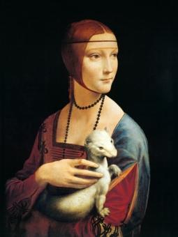 Da Vinci Leonardo - Frau mit Hermelin