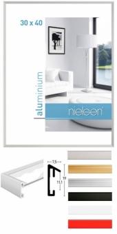 Alu-Bilderrahmen Nielsen Pixel - 50 x 70 cm Gold glanz