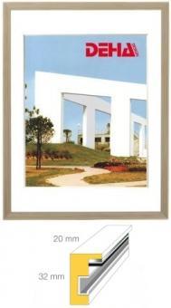 Holz-Bilderrahmen DEHA Profil 2032 - 28 x 35 cm