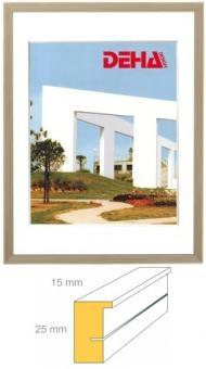 Holz-Bilderrahmen DEHA Profil A25 Edelhölzer - 55 x 75 cm
