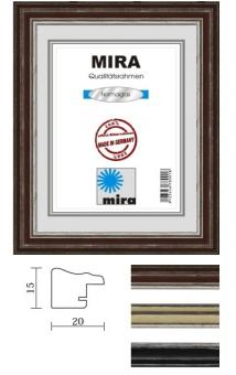 Holz-Bilderrahmen Mira Profil 38 - 50 x 50 cm - quadratisch