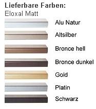 DEHA-Wechselrahmen Farbübersicht Profil 1