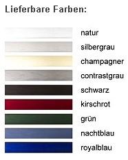 DEHA-Wechselrahmen Farbübersicht Profil 30